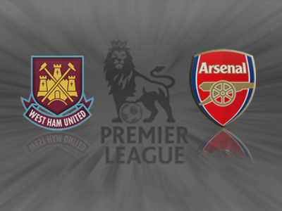 West Ham 1 v 3 Arsenal: Podolski brings Der Hammer down on Hammers.