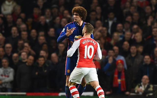 Reports: Arsenal To Meet With Fellaini Over Possible Free Transfer