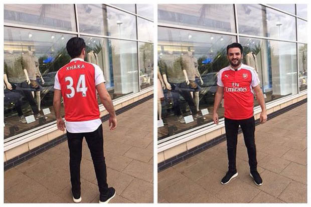 Xhaka Arsenal fan