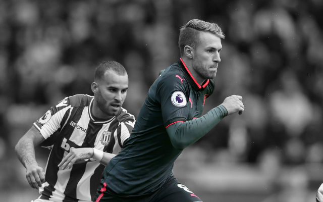 Wenger Hints That Aaron Ramsey Could Become The Next Arsenal Captain