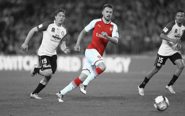 Chelsea & Manchester United Lead Race For Arsenal's Aaron Ramsey