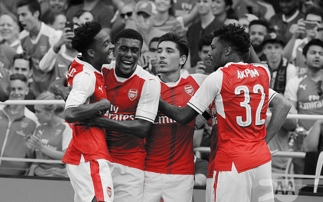 Iwobi Reveals The Fastest Runner In The Arsenal Squad