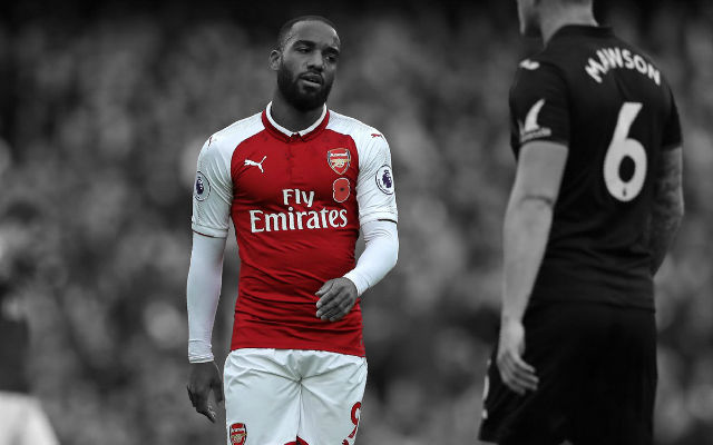 [Confirmed Lineups] Manchester City v Arsenal – Lacazette Dropped, Change In Formation For Gunners