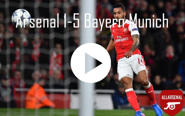 Arsenal 1-5 Bayern Munich [Match Highlights] – All The Goals And Highlights