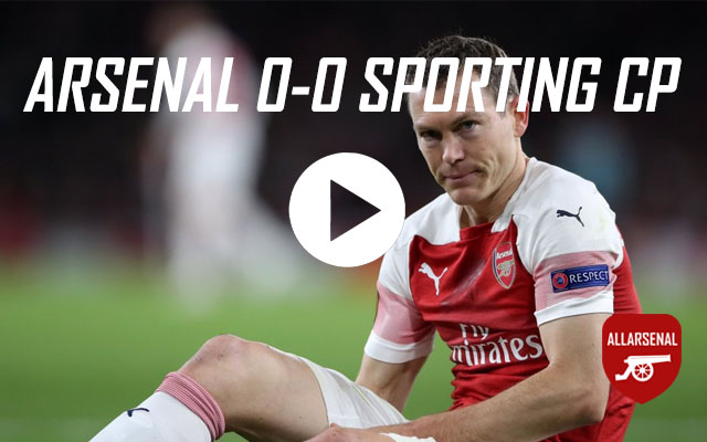 [Match Highlights] Arsenal 0-0 Sporting CP – All The Highlights & Best Bits