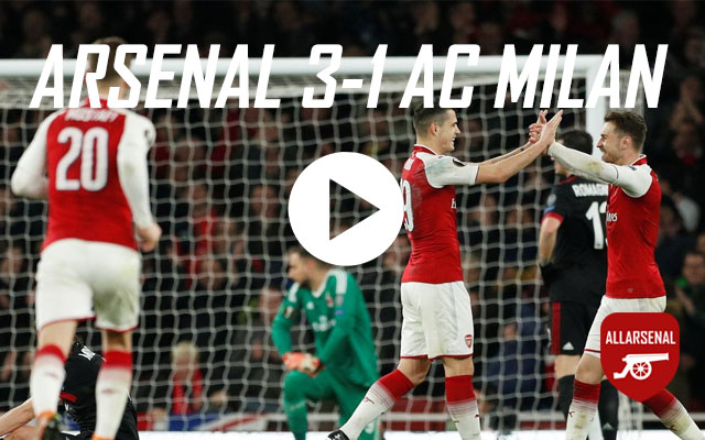 [Match Highlights] Arsenal 3-1 AC Milan – All the Goals & Best Bits
