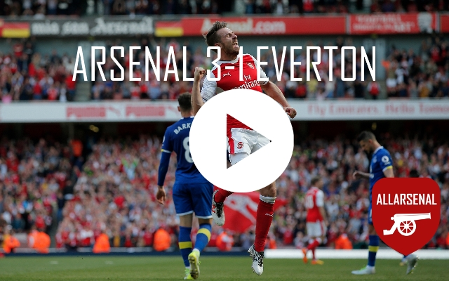 [Match Highlights] Arsenal 3-1 Everton: All The Goals And Best Bits