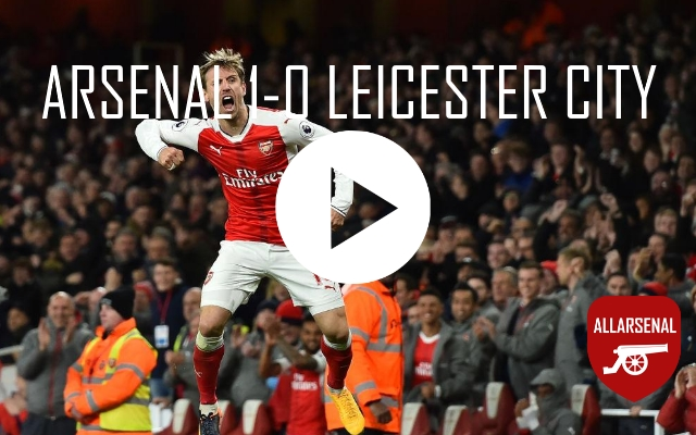 [Match Highlights] Arsenal 1-0 Leicester City – All The Goals And Best Bits