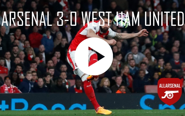 Arsenal 3-0 West Ham [Match Highlights] All The Goals And Best Bits