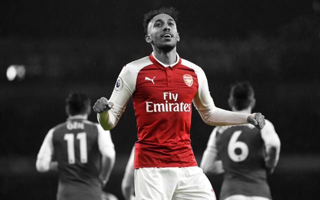 EPL: Aubameyang Score On Arsenal Debut