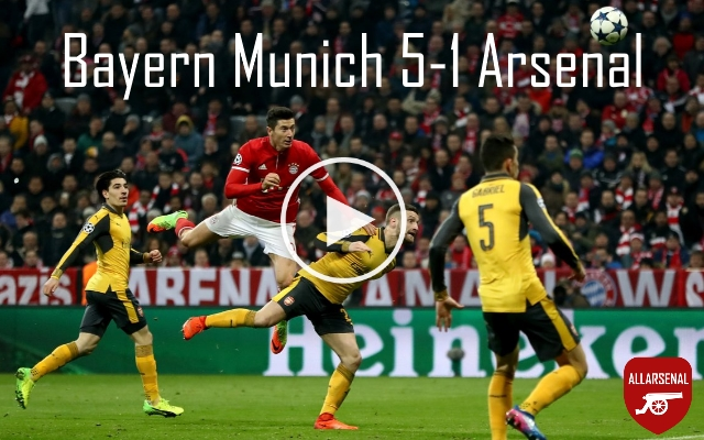 Bayern Munich 5-1 Arsenal [Match Highlights] – All The Goals And Best Bits