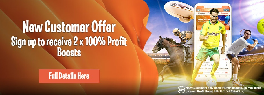 Leo Vegas Sports Bonus Offer