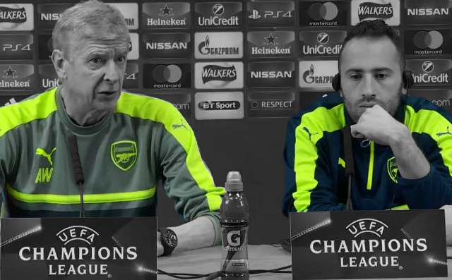 Wenger To Play Ospina Not Cech Against Bayern