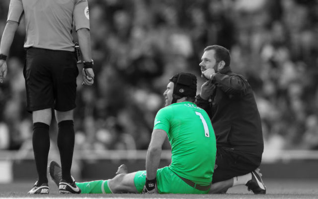 [Team News] Qarabag FK v Arsenal – The Extent Of Petr Cech's Injury Has Been Revealed