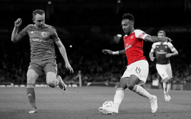 Aubameyang Reveals How Far Arsenal Can Go In The Europa League