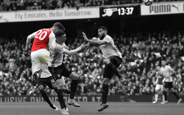 Mustafi Reveals How He Scores So Many Goals From Set Pieces