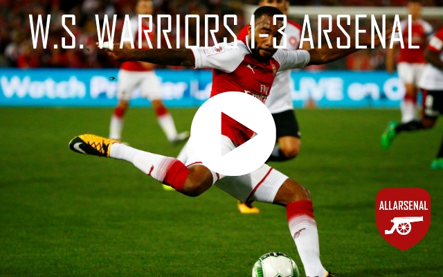 [Match Highlights] Western Sydney Wanderers 1-3 Arsenal – All The Goals And Best Bits