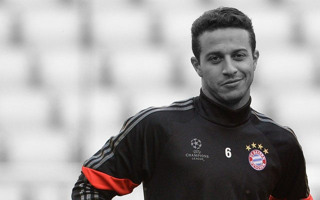 Blow For Arsenal As Thiago Is Declared Fit For Bayern Clash