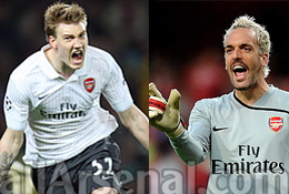 Bendtner and Alumunia finally set to leave Emirates