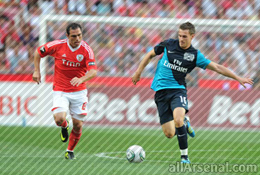 Match report: Arsenal 1 v Benfica 2