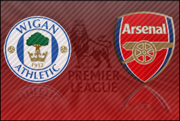 Match Report: Wigan Athletic vs Arsenal (Video Highlights)