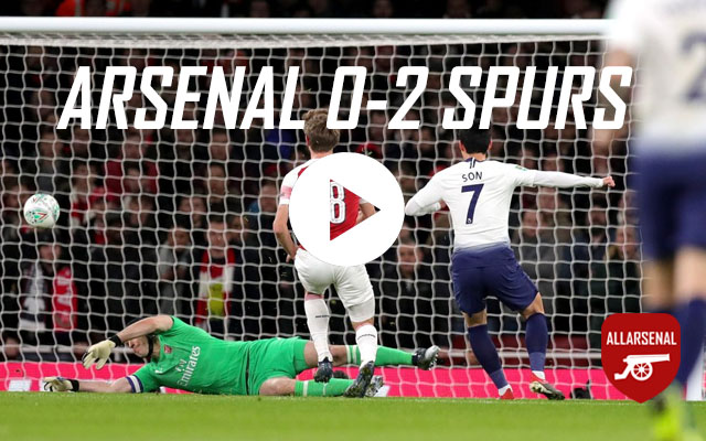 [Match Highlights] Arsenal 0-2 Spurs – All The Goals And Best Bits