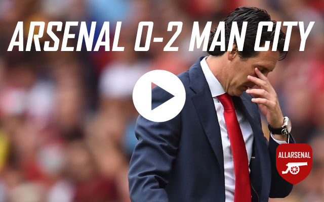 [Match Highlights] Arsenal 0-2 Manchester City – All The Goals & Best Bits