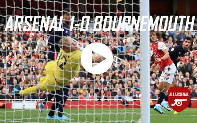 [Match Highlights] Arsenal 1-0 AFC Bournemouth – All The Highlights And Best Bits