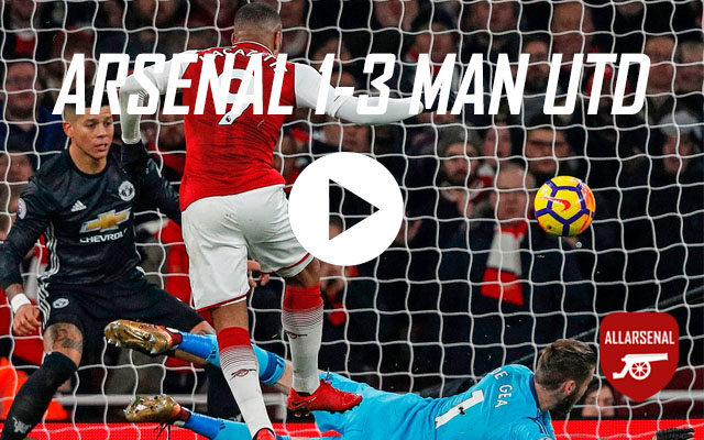 [Match Highlights] Arsenal 1-3 Manchester United – All The Goals And Best Bits