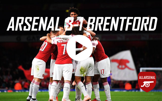 [Match Highlights] Arsenal 3-1 Brentford – All The Goals & Best Bits