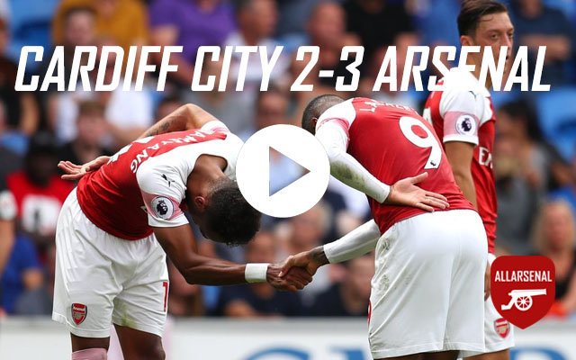 [Match Highlights] Cardiff City 2-3 Arsenal – All The Goals & Best Bits