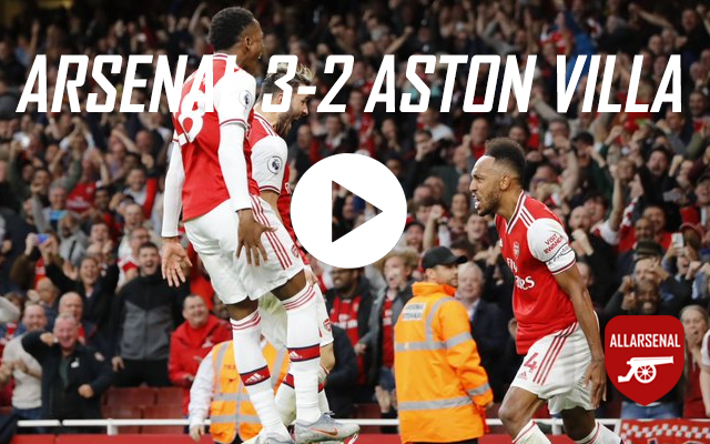 [Match Highlights] Arsenal – Aston Villa – All The Goals And Best Bits