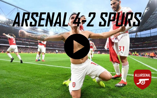 [Match Highlights] Arsenal 4-2 Spurs – All The Goals And Best Bits