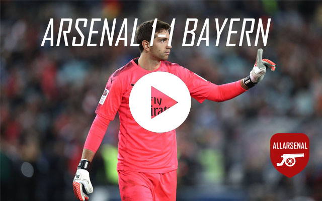 [Match Highlights] Arsenal 1-1 Bayern Munich – All The Goals And Best Bits
