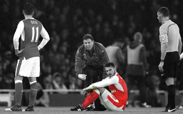 Arsenal Career Over: Aaron Ramsey Ruled Out For Rest of Season