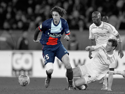 Arsenal reportedly close to Adrien Rabiot as agent arrives in London