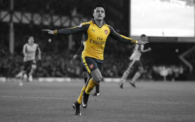 Sanchez: I'm Really Happy At Arsenal