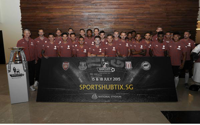 [Image] Arsenal's 2015/16 official team photo released – midfield starlet included
