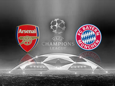 Arsenal 0 v 2 Bayern Munich: Resilient Arsenal have a mountain to climb in Munich.