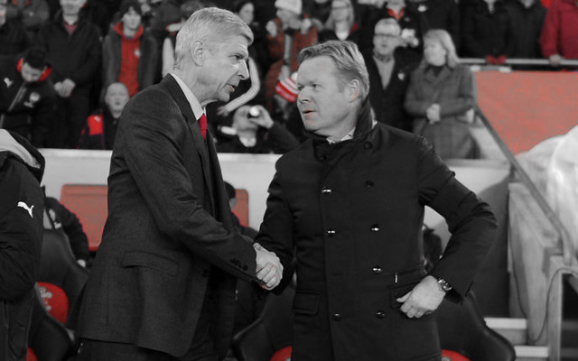 Arsenal Want Koeman To Replace Wenger