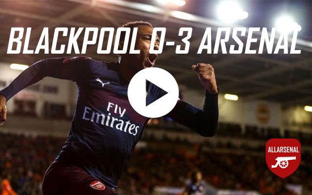 [Match Highlights] Blackpool 0-3 Arsenal – All The Goals And Best Bits