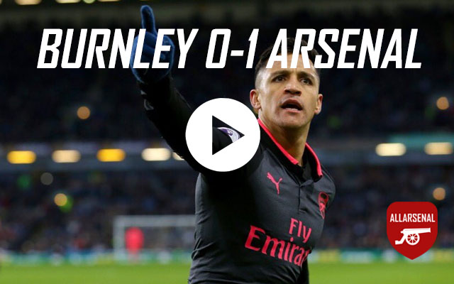 [Match Highlights] Burnley 0-1 Arsenal – All The Highlights And Best Bits