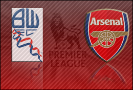 Live Commentary: Bolton vs Arsenal