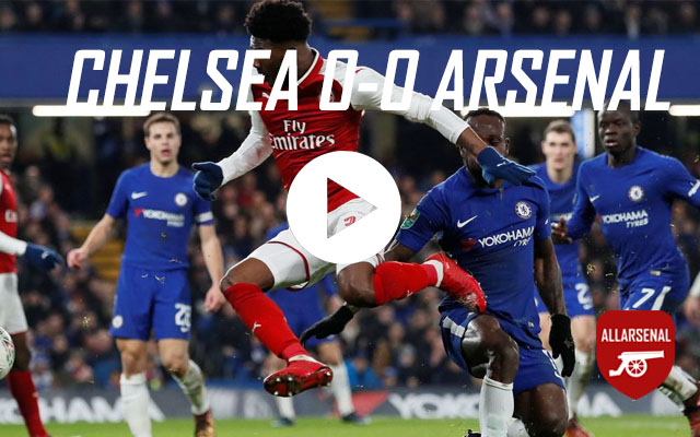 [Match Highlights] Chelsea 0-0 Arsenal – All The Chances & Best Bits