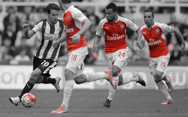 [Image] Arsenal boost: Cazorla & Wilshere train ahead of West Brom