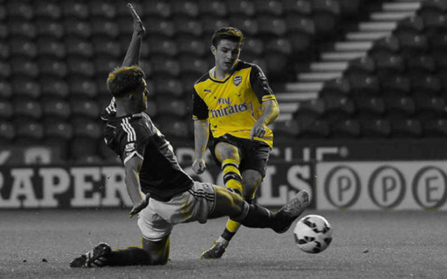 [Video] Arsenal loanee nets first professional goal in stunning cup tie