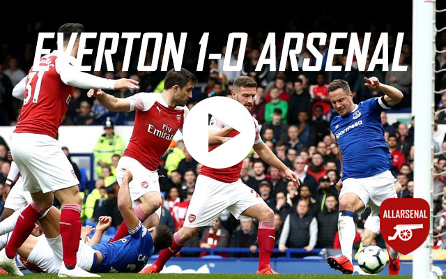 [Match Highlights] Everton 1-0 Arsenal – All The HighlightsAnd Best Bits