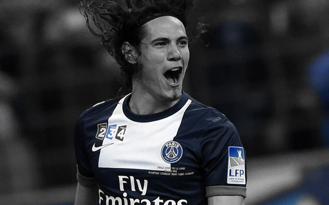 Report claims Arsenal have agreed £45m fee for Cavani, as Wenger flies to Paris
