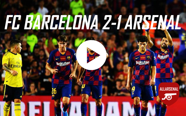 [Match Highlights] FC Barcelona 2-1 Arsenal – All The Goals And Best Bits