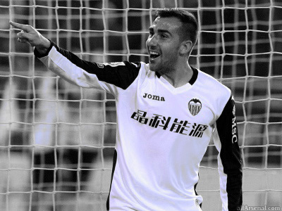 Arsenal scouting Valencia hit-man Francisco Alcacer